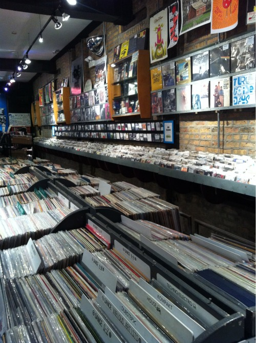 Reckless Records Inside